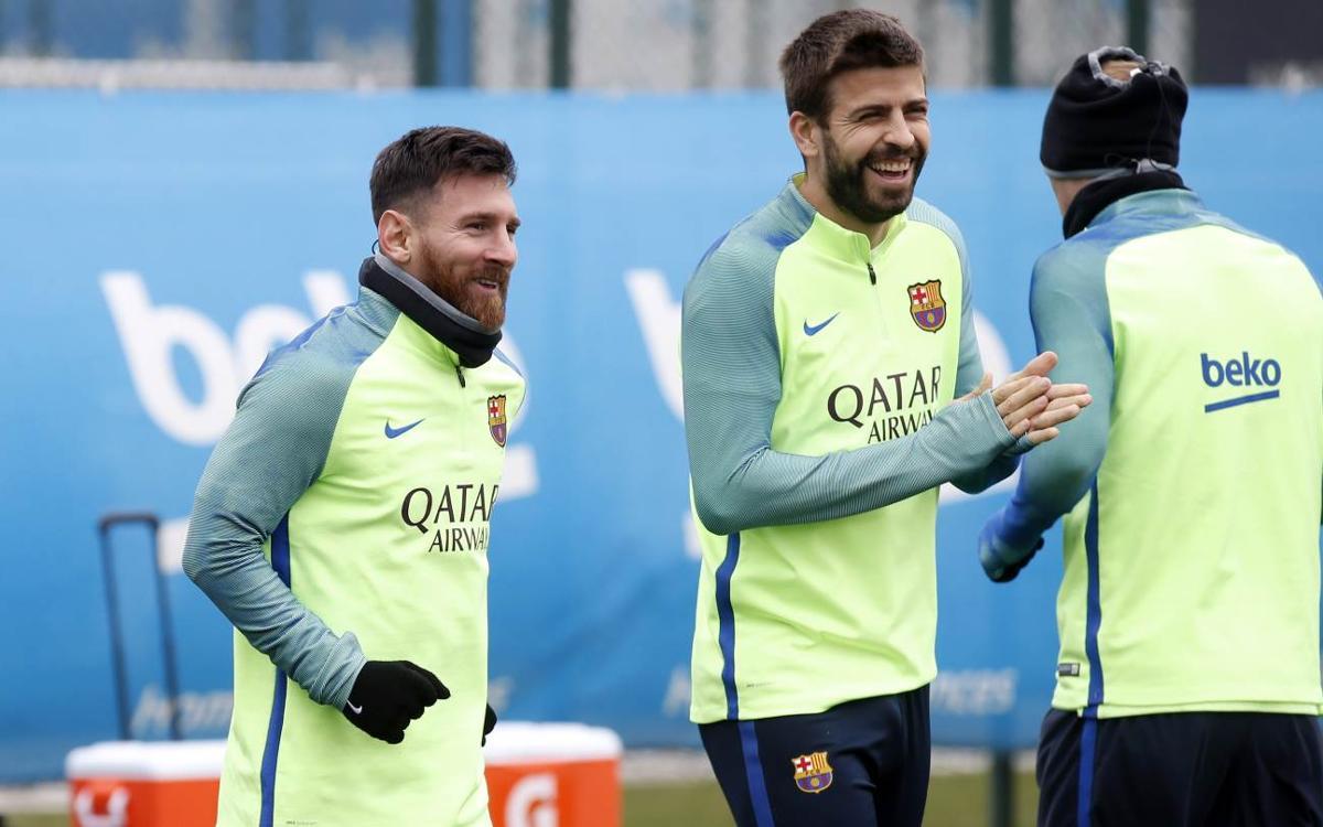 Messi i Piqué, les novetats per rebre el Sevilla