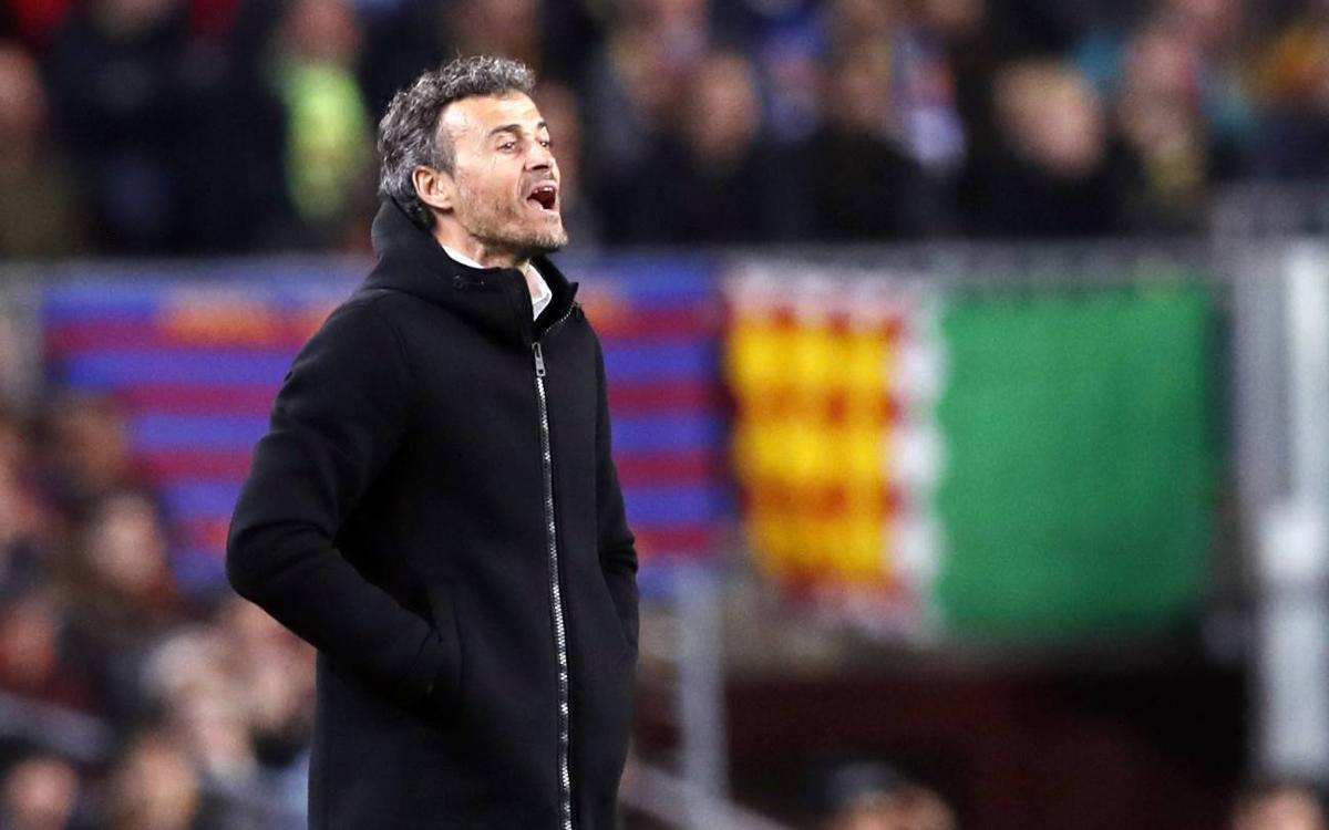 """Luis Enrique: """"La clave ha sido la fe del equipo y de la afición"""""""