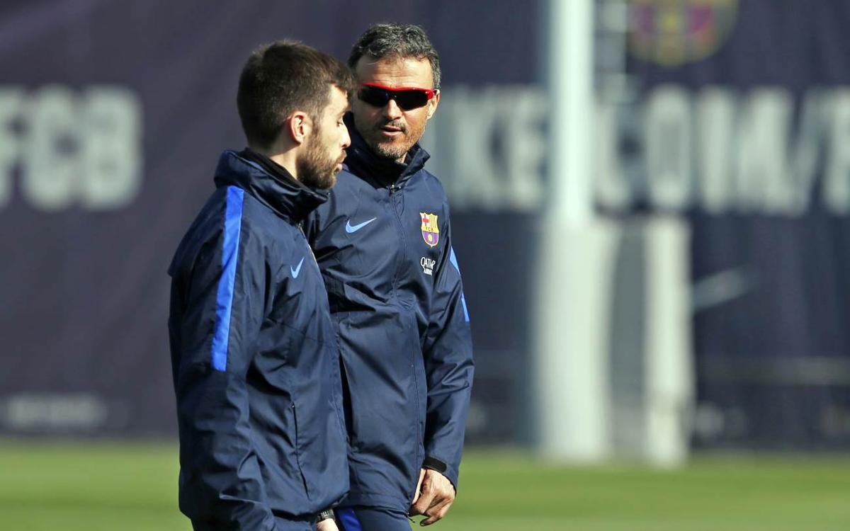 Luis Enrique looking for a reaction against Leganés