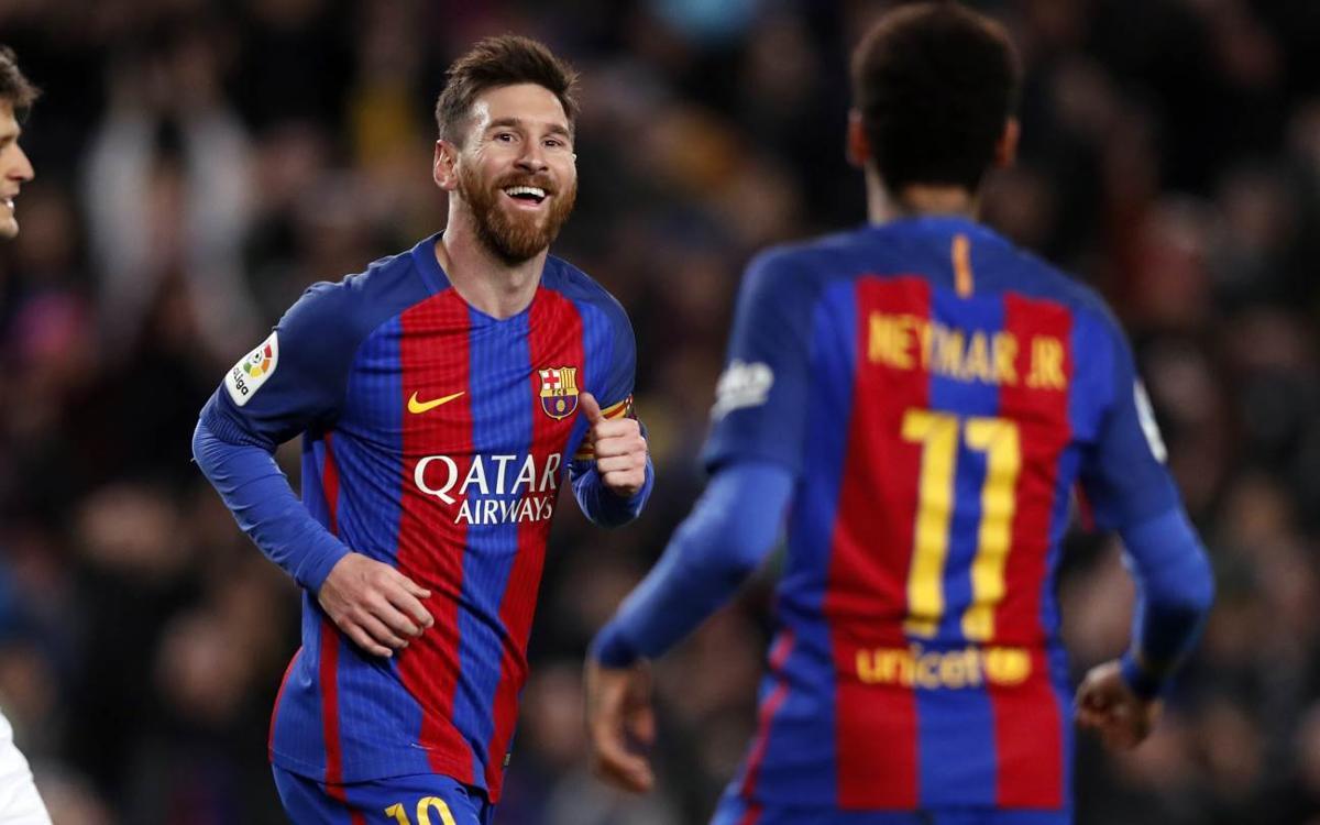 FC Barcelona - RC Celta de Vigo: Messi lidera una goleada para creer (5-0)