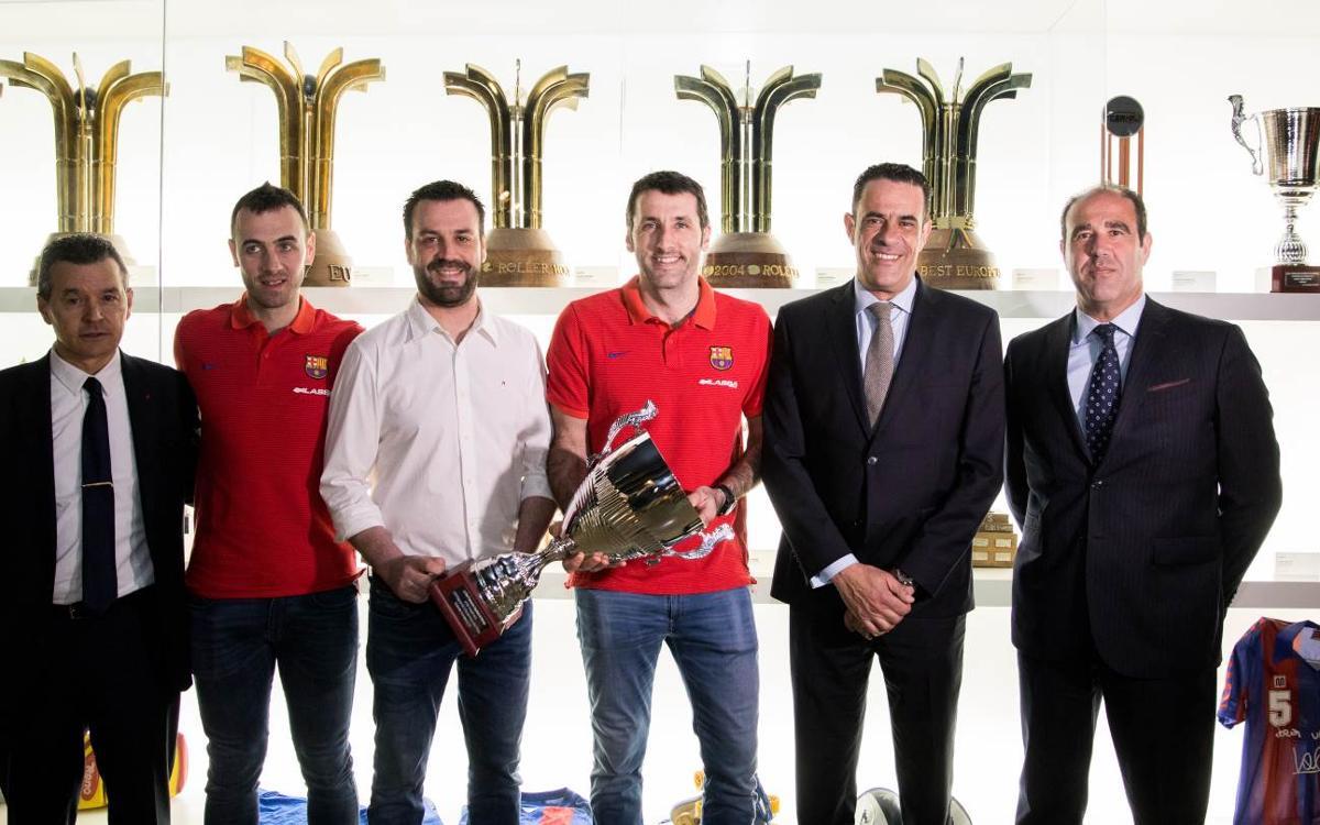 La Copa del Rey ya está en el Museo del FC Barcelona