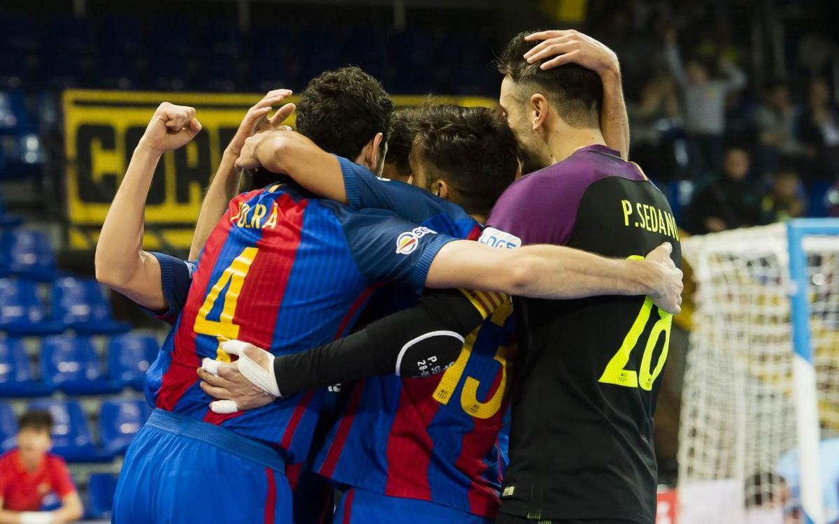 FC Barcelona Lassa – Llevant UD: Classe magistral de reacció (7-4)