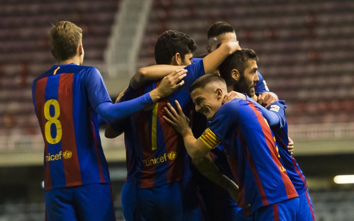 Barça B – Gavà: Homenaje al espectáculo (4-0)