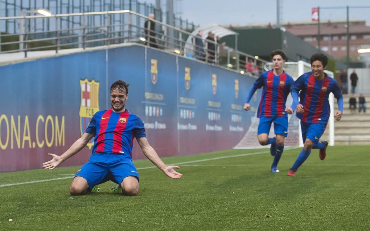 Juvenil A - Zaragoza: Victoria para acariciar el título de Liga (1-0)