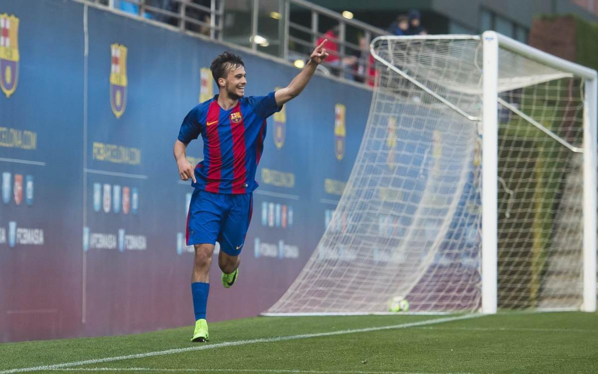 El Top 5 de gols del futbol formatiu blaugrana