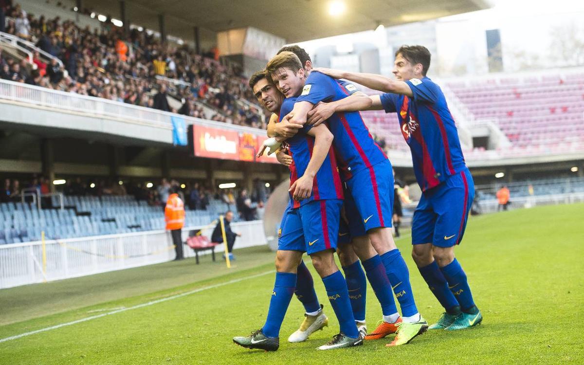 El Barça B, l'equip més golejador de la Lliga
