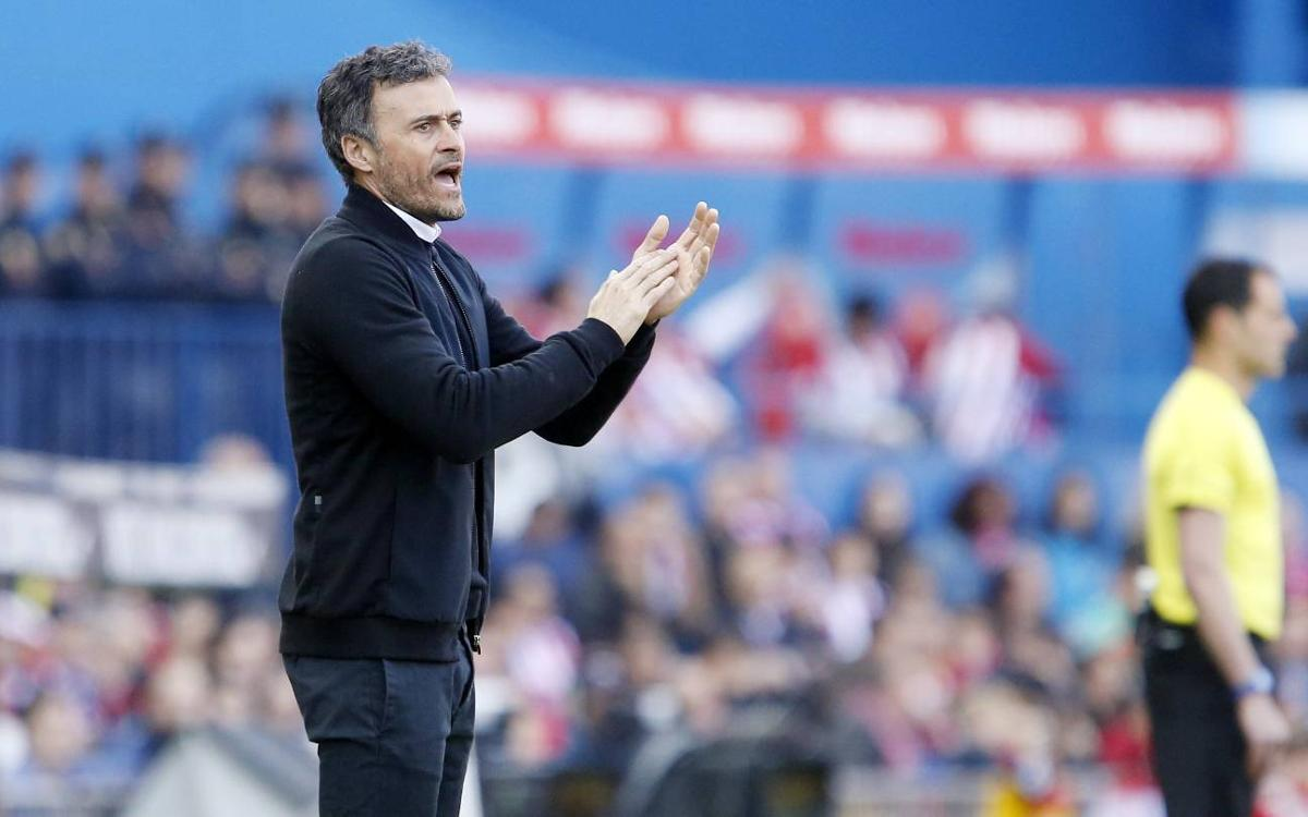 Luis Enrique reaches 100-game plateau in La Liga as FC Barcelona head coach