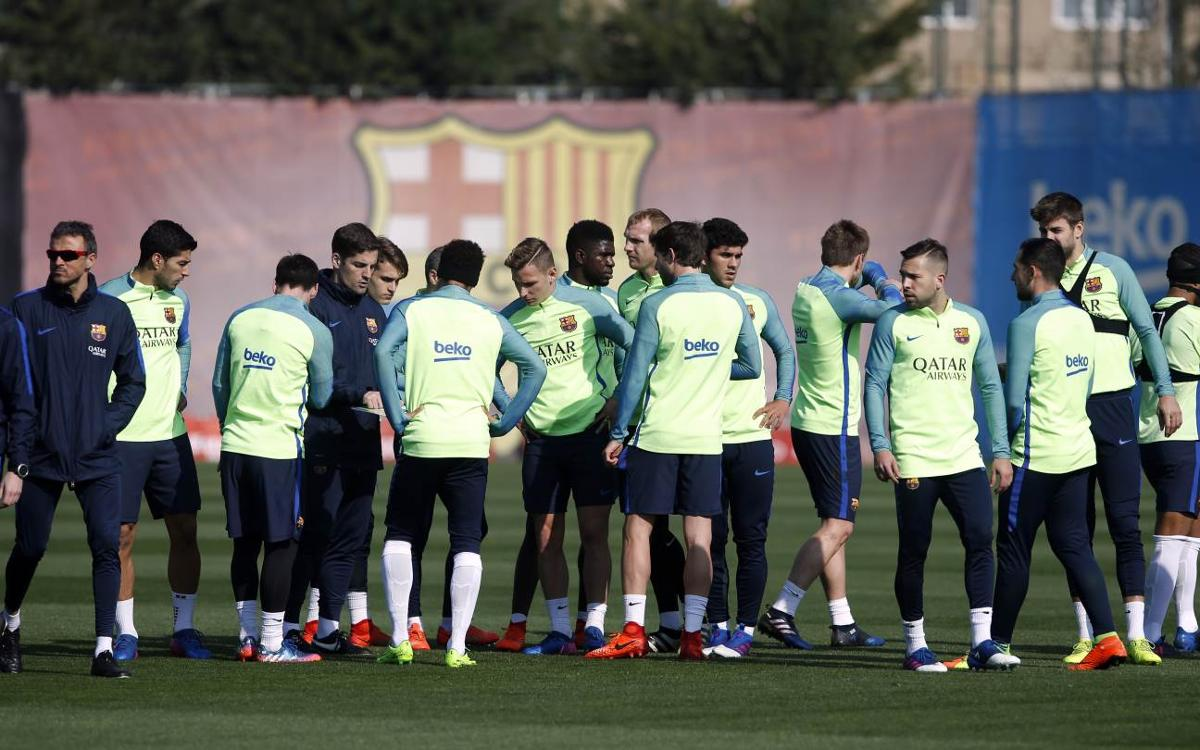 The squad of 18 announced for FC Barceona's match against Leganés