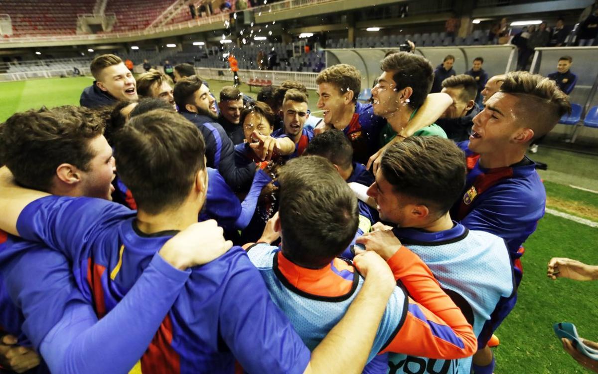 La semifinal de la UEFA Youth League ja té dia i hora confirmats