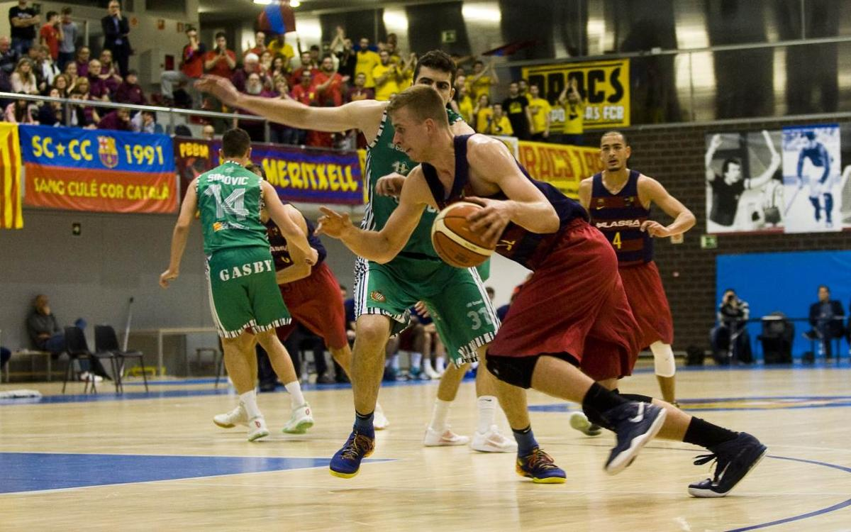 FC Barcelona Lassa B - Huesca: Llega la cuarta victoria consecutiva (97-84)