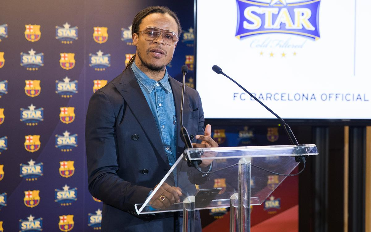 Edgar Davids: 'I hope Barça are able to turn the PSG tie around'