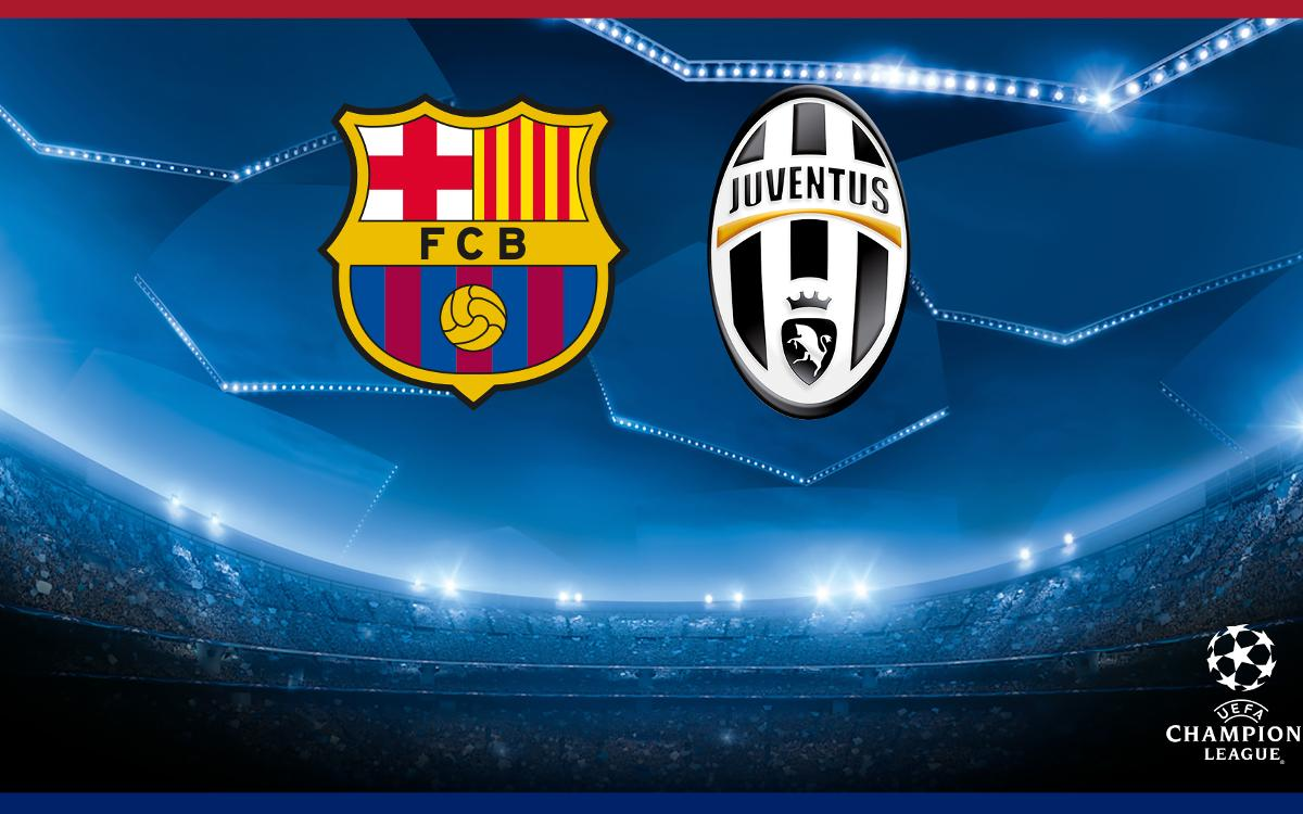 FC Barcelona to face Juventus in the Champions League quarter-finals