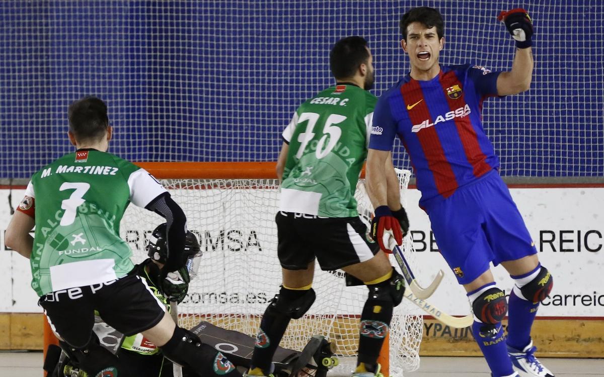 Reicomsa Alcobendas – FC Barcelona Lassa: El líder no es deixa sorprendre (4-6)