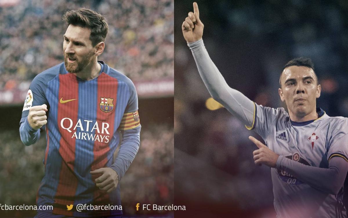 Leo Messi y Iago Aspas, las mejores zurdas de la Liga