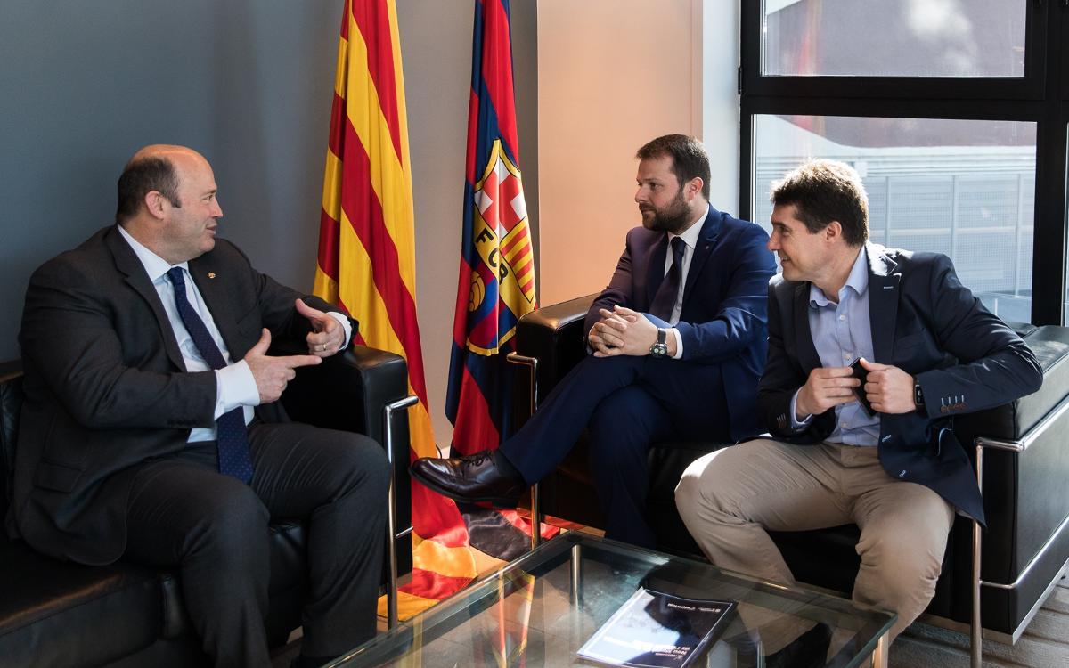 Trobada per avançar cap al Pacte Nacional de l'Activitat Física i l'Esport de Catalunya