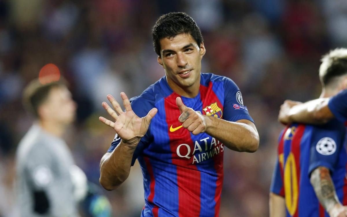 Luis Suarez :