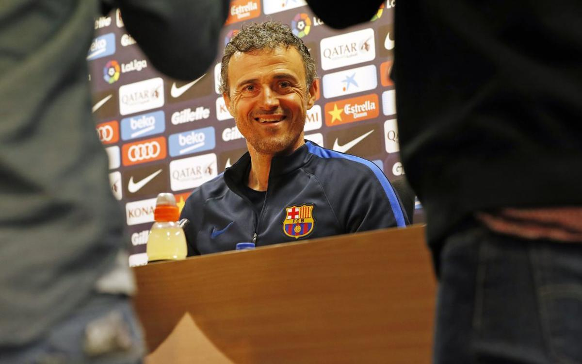 Luis Enrique: We are focused on winning titles