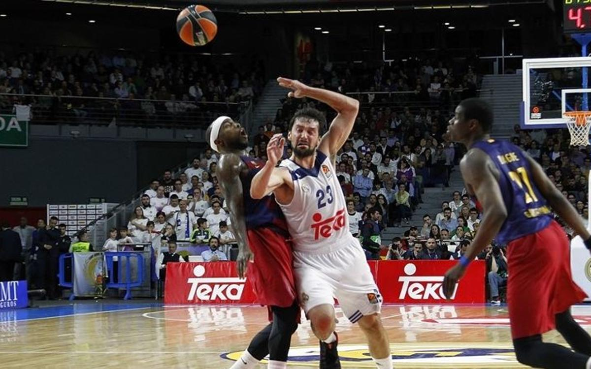 Real Madrid 85-69 FC Barcelona Lassa: Defeat that certifies elimination
