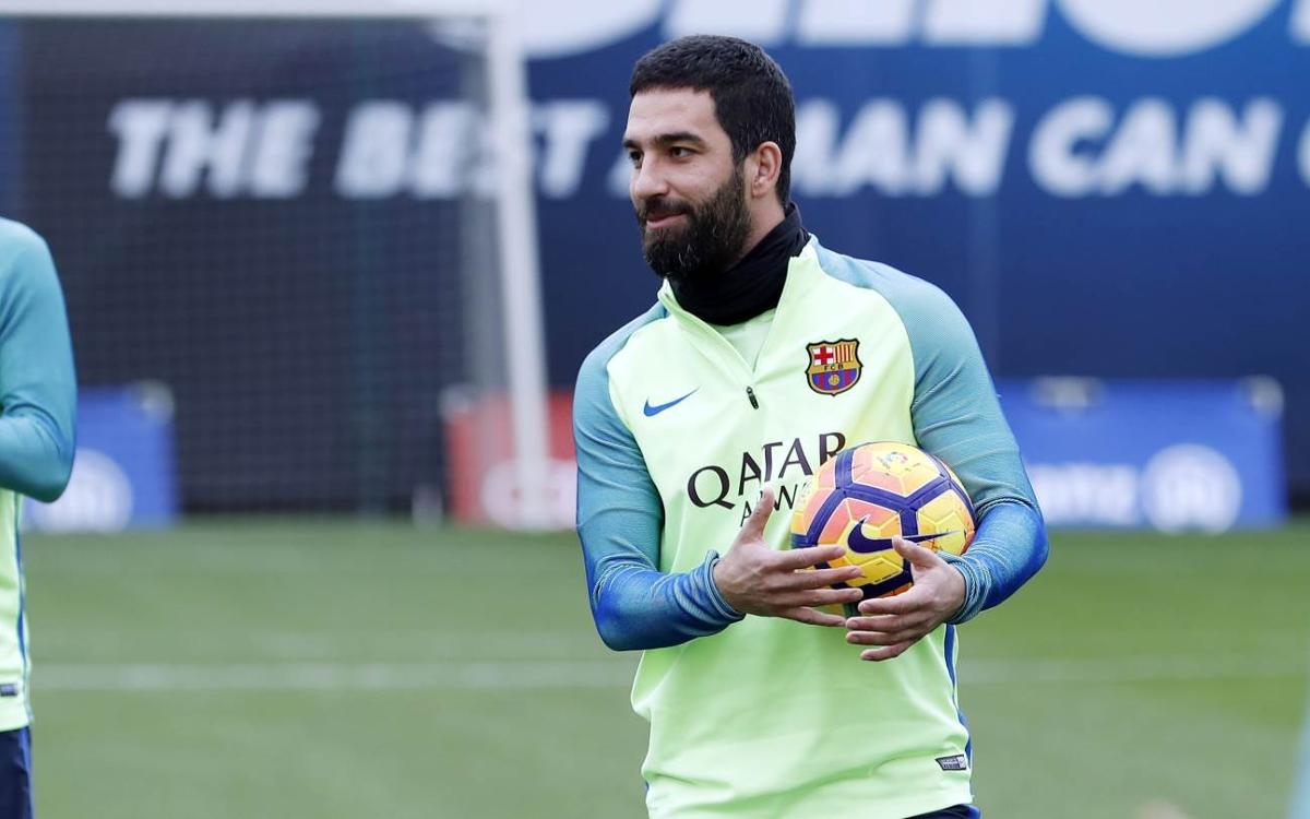 Arda Turan is in the squad in place of André Gomes
