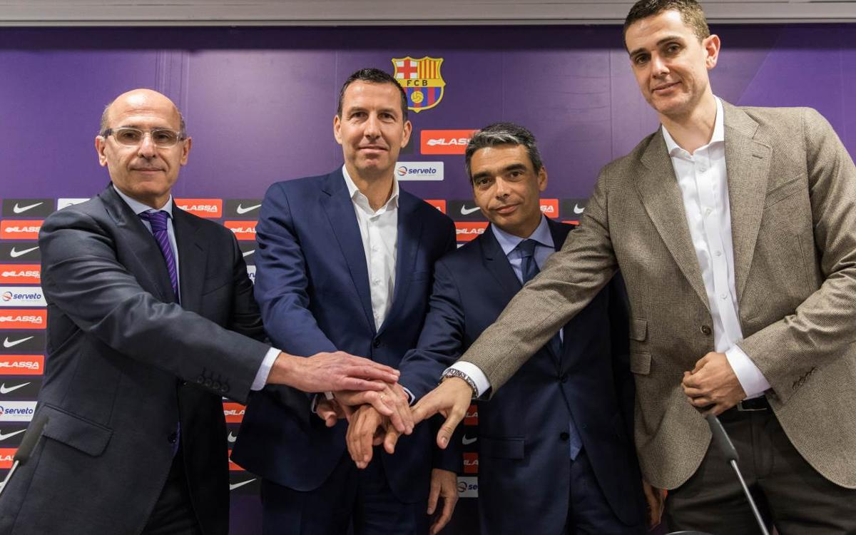 Nacho Rodríguez, nuevo manager de gestión del FC Barcelona Lassa de baloncesto