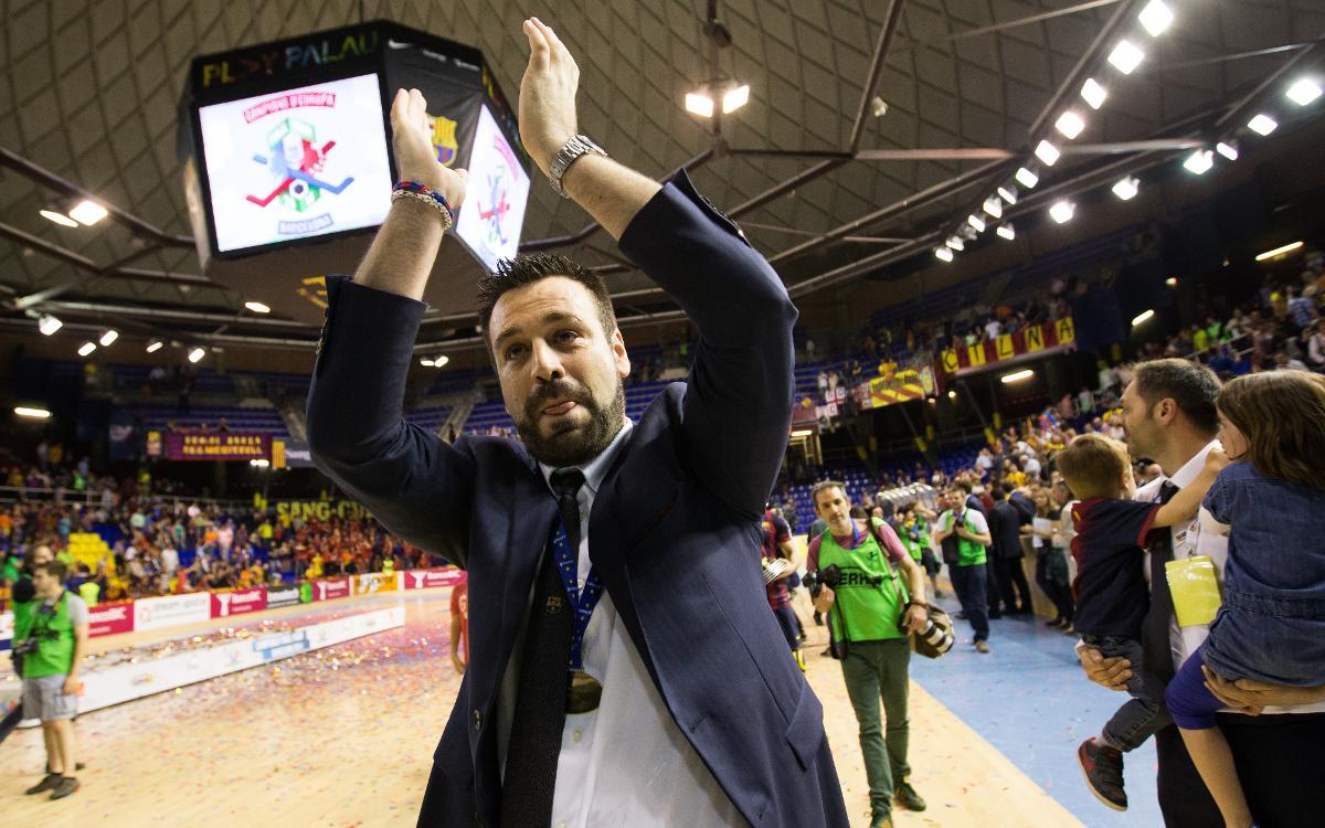 "Ricard Muñoz: ""Ha estat un somni dirigir el Barça Lassa"""