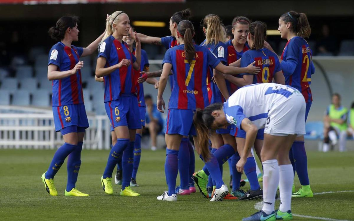 FC Barcelona Women v Sporting Huelva: Big win to edge closer to the top (5-1)