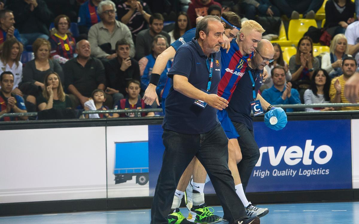 Lasse Andersson, seis meses de baja