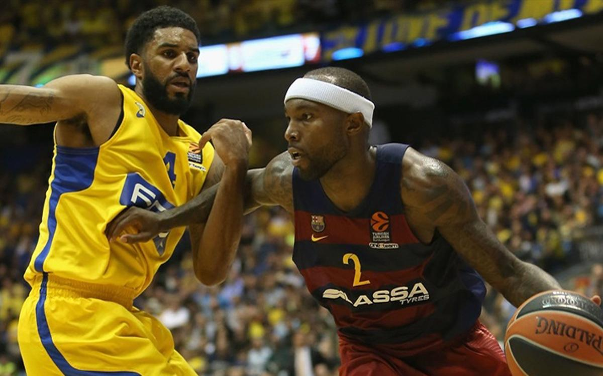 Maccabi v FC Barcelona Lassa: Victorious visitors in Tel Aviv (69-79)