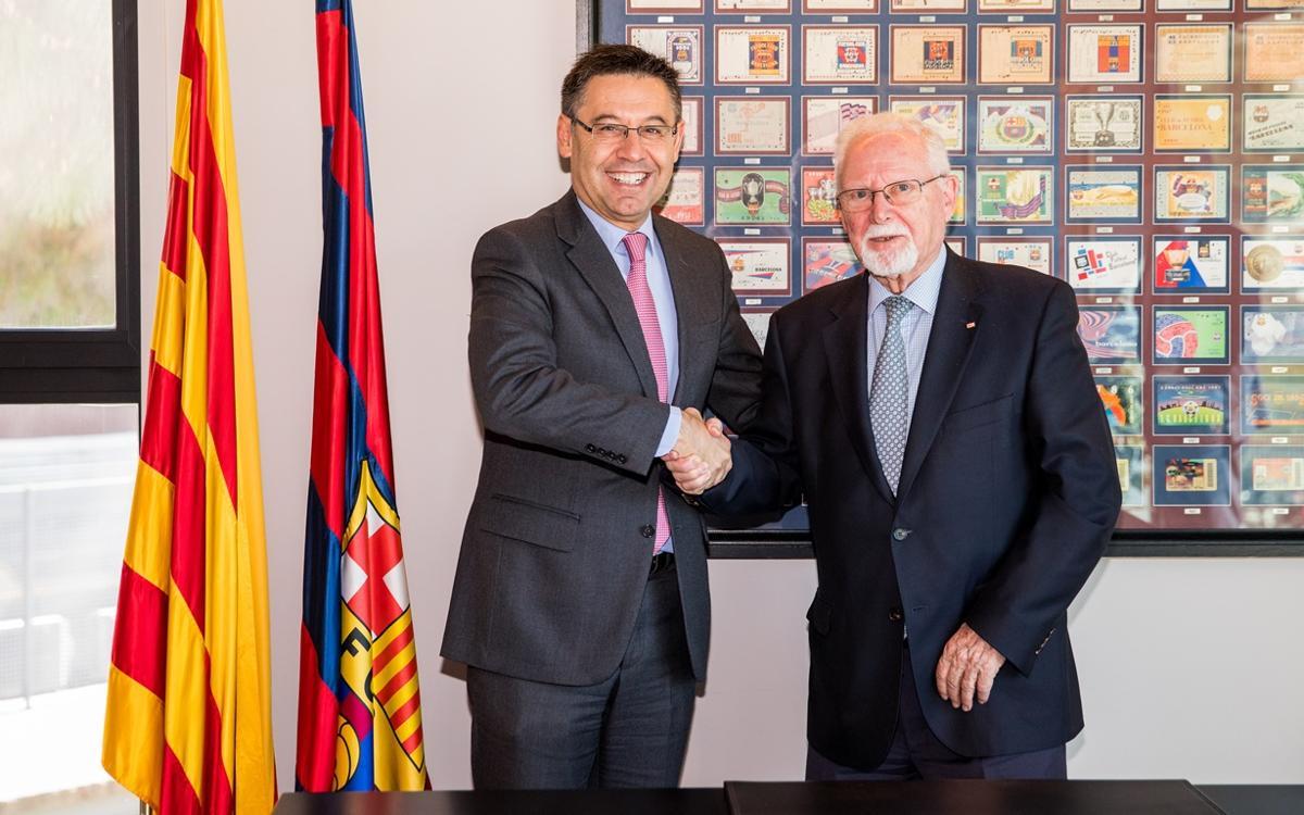 La Creu Roja i el FC Barcelona col·laboraran en programes socials durant els propers 5 anys