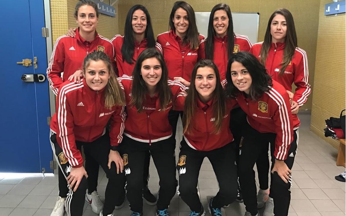 Empieza la Algarve Cup para 10 culés