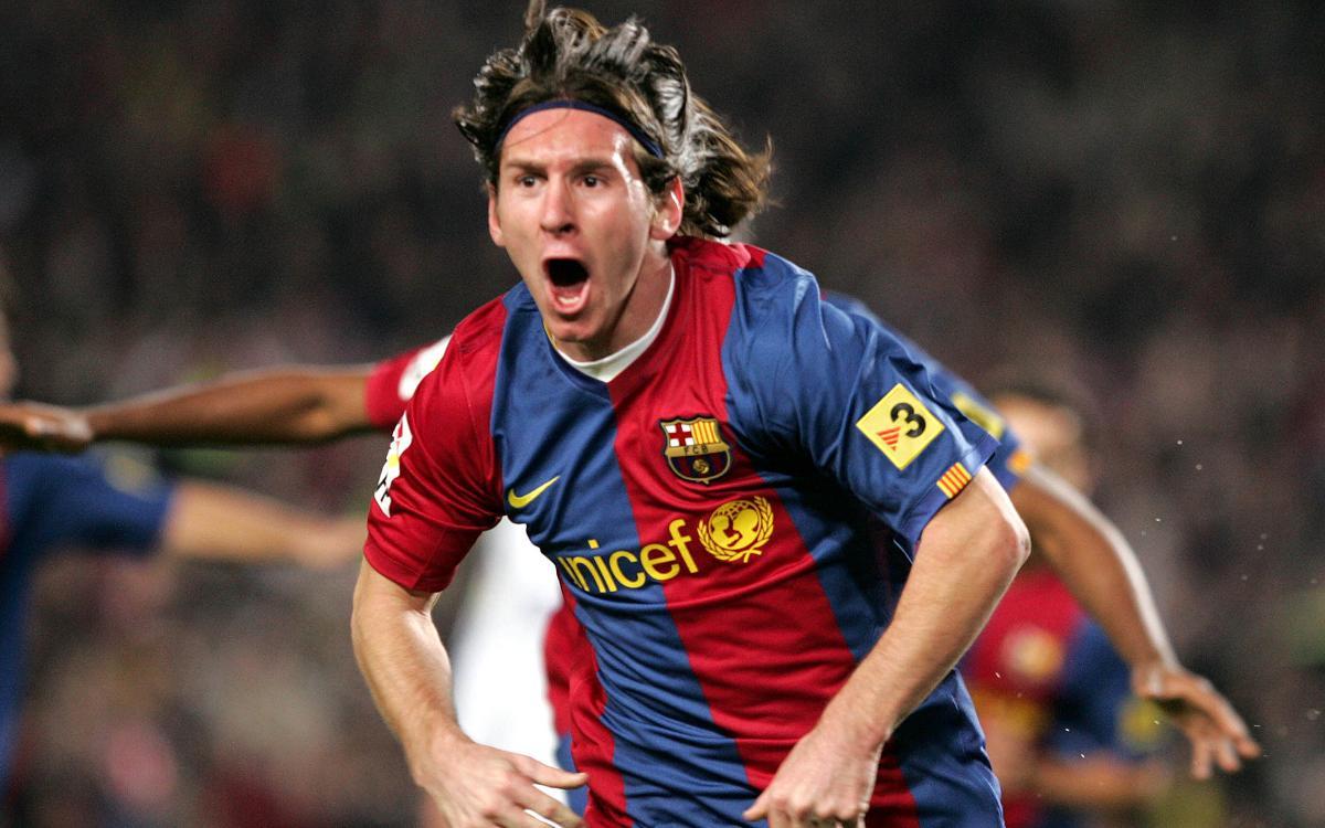 10 anys del primer hat-trick de Leo Messi amb el Barça