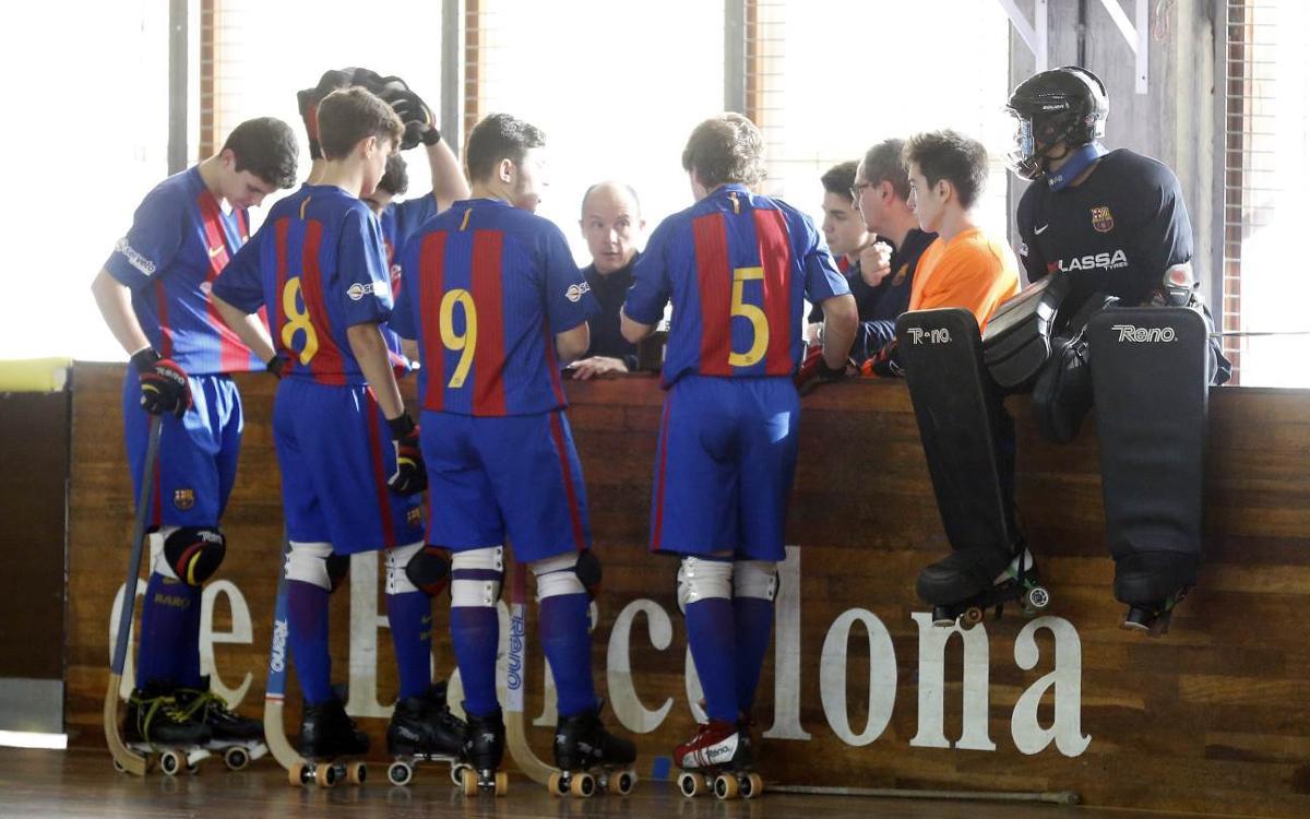 El Junior y el Infantil, con los campeonatos de Catalunya en el horizonte