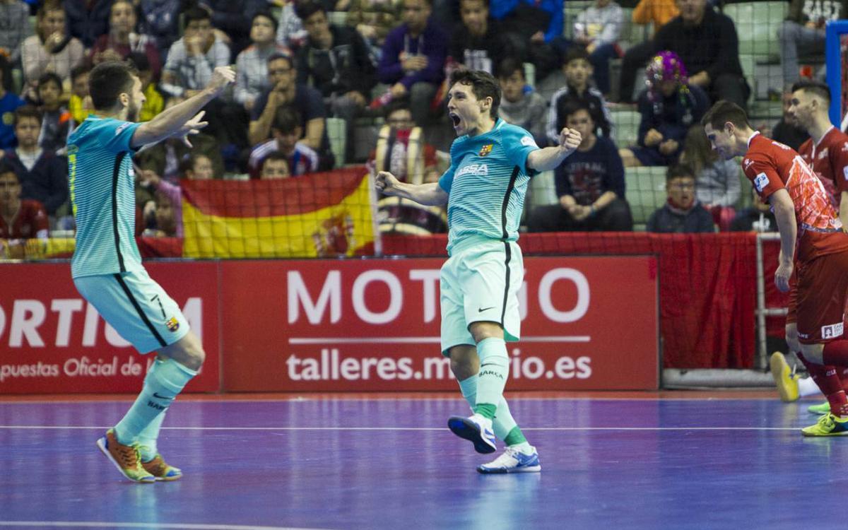 ElPozo Murcia - FC Barcelona Lassa: Otro golpe de autoridad a domicilio (1-2)