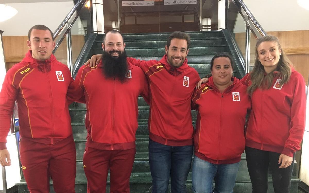 Cinc atletes del FC Barcelona, convocats per a la Copa d'Europa de Llançaments