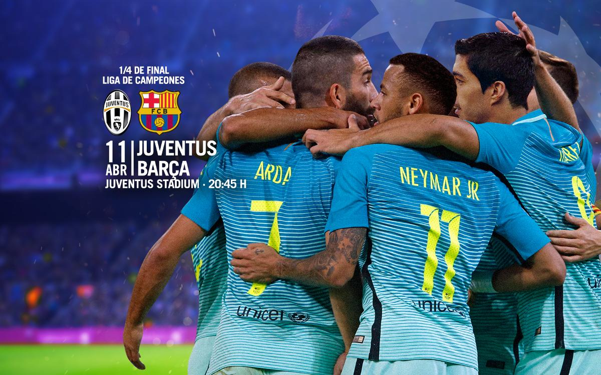 Entradas Juventus - Barça de Liga de Campeones