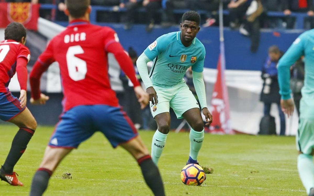 Confirmado el horario del FC Barcelona - CA Osasuna de Liga
