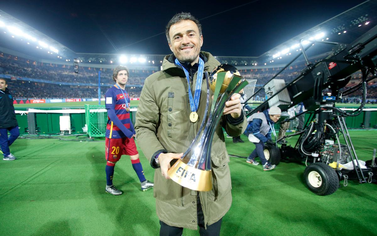 Luis Enrique: Eight trophies in the bag with a possible three to come