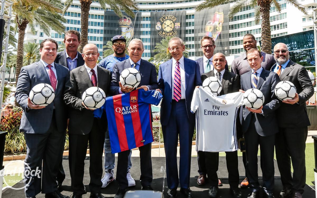 El Barça jugará ante el Real Madrid en Miami el 29 de julio