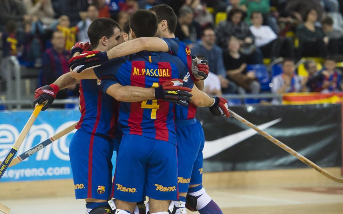 FC Barcelona Lassa 5-1 Mérignac: Top spot in the group sealed (5-1)