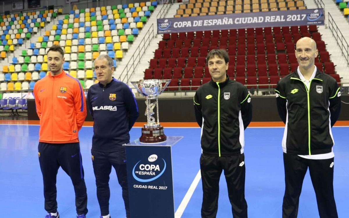 Ambientazo de Copa en Ciudad Real