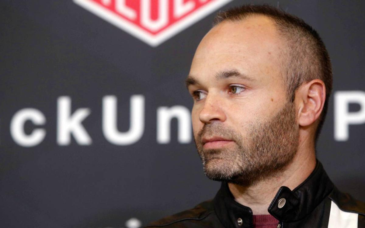 Andrés Iniesta: 'We are not afraid of anybody, but we do have a lot of respect for them'