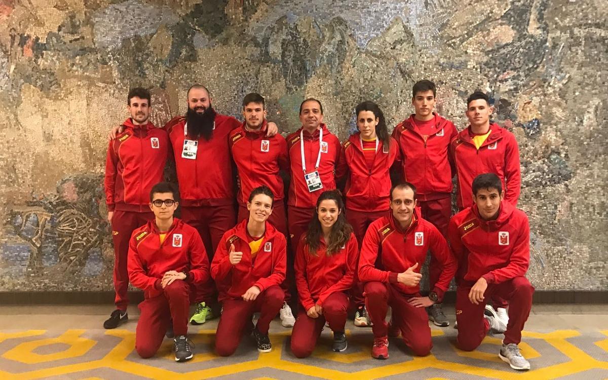 La representación del Barça en el Europeo de Belgrado