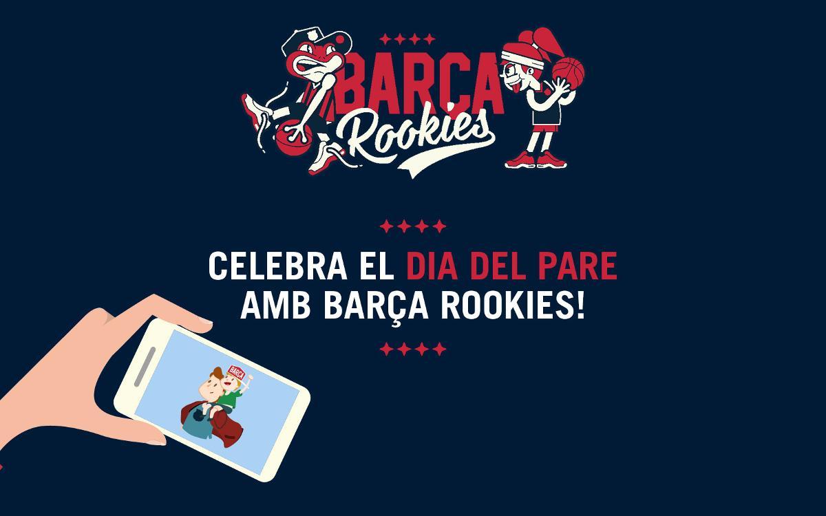 """Concurs """"Dia del Pare"""" per als 'rookies' blaugrana"""