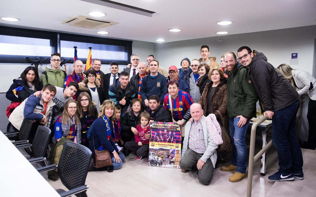 Supporters Club events before Barça v Celta