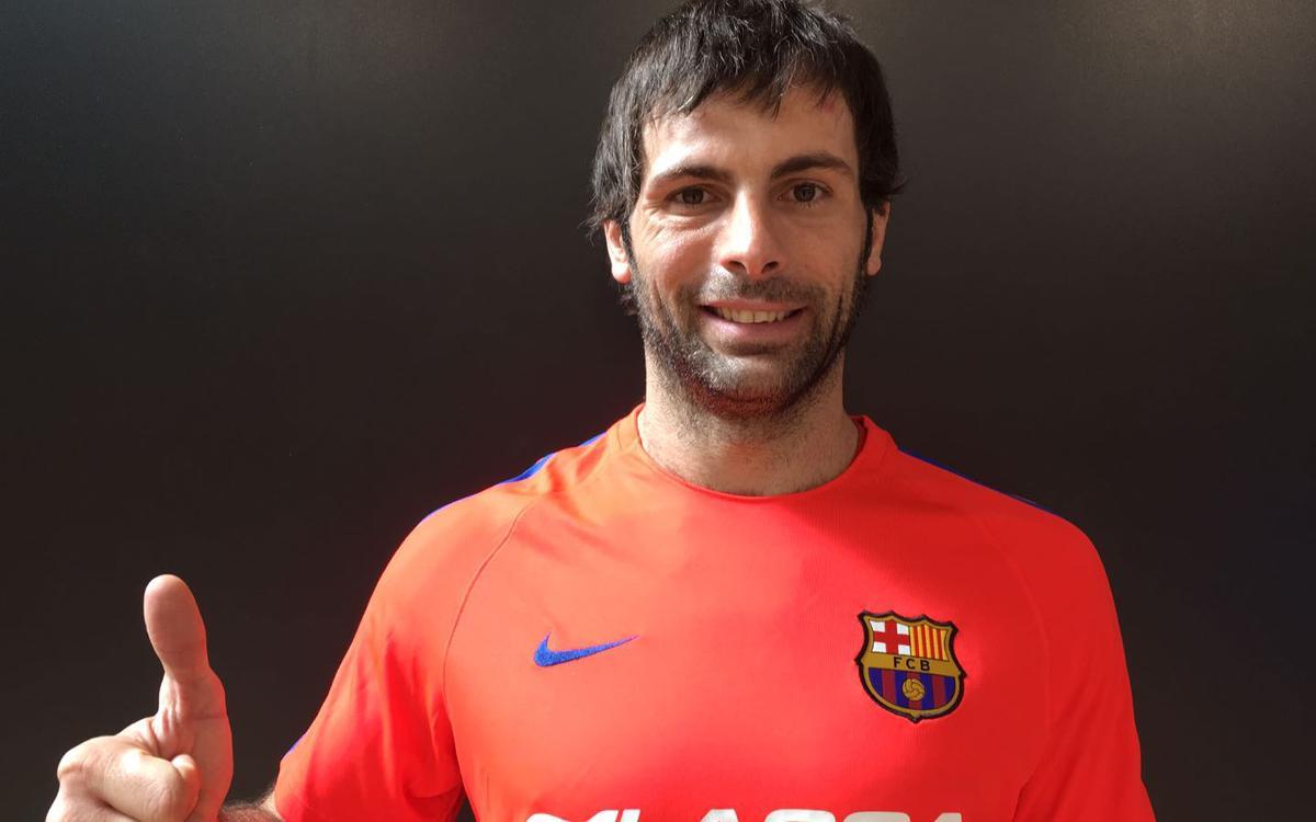 """Antonio García: """"Quan et truca el Barça no pots dir que no"""""""