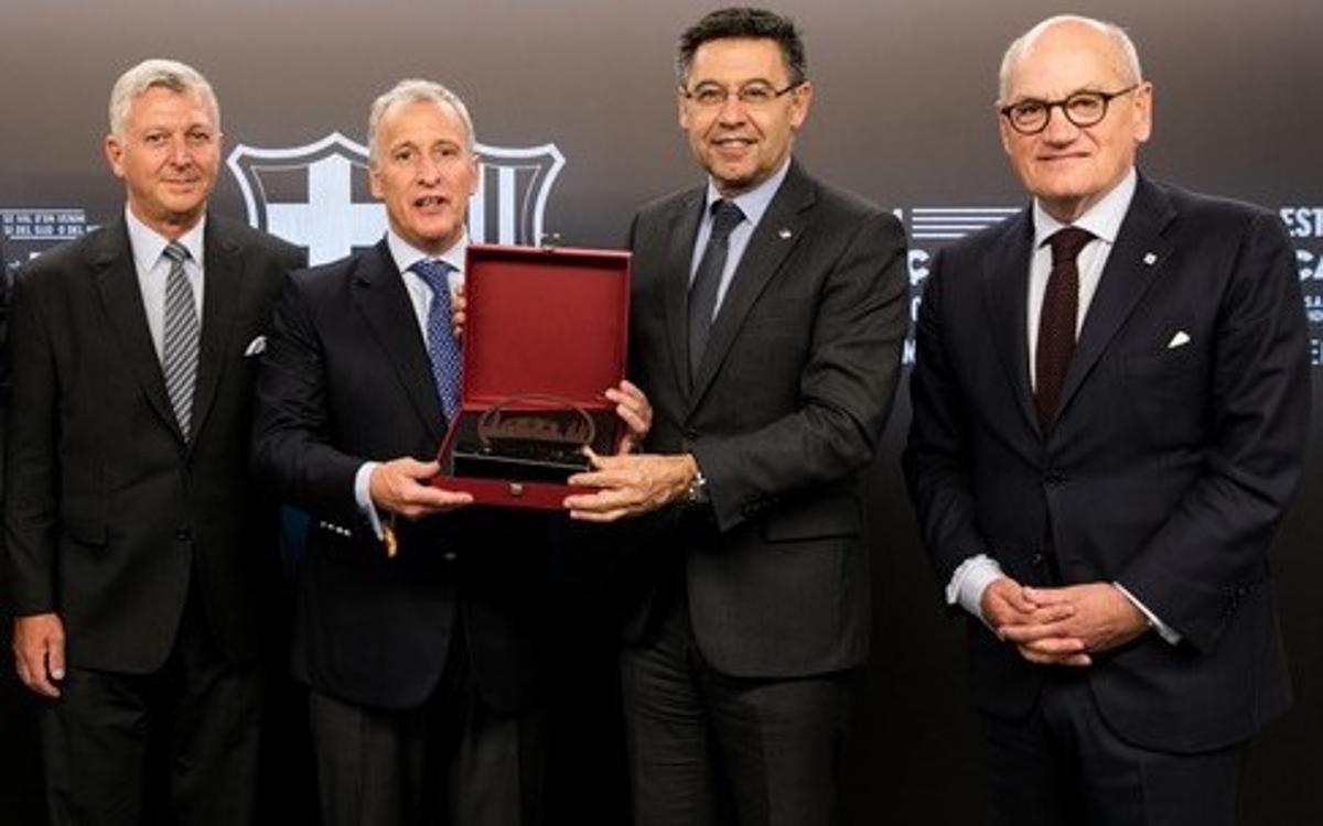 Acuerdo de colaboración entre FC Barcelona y CA Peñarol