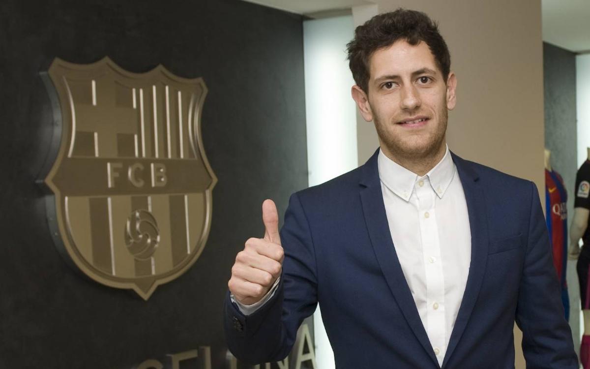 Rafa López firma con el Barça Lassa hasta el 2019