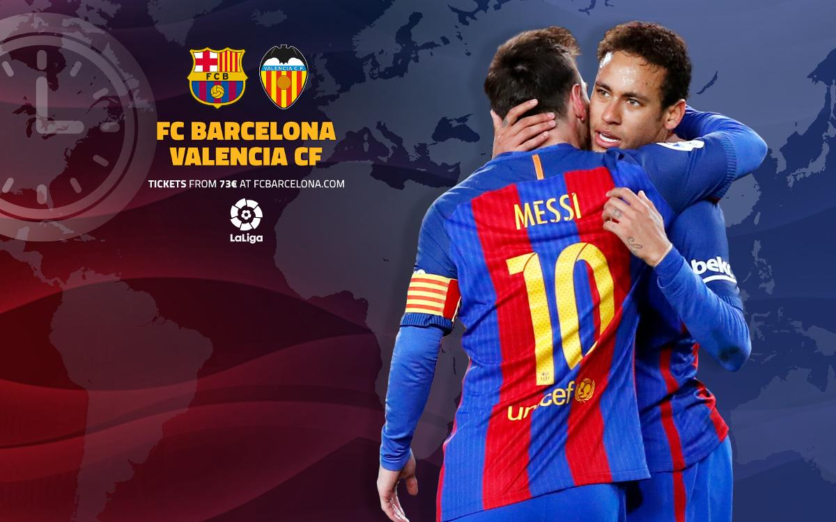 FC バルセロナ –バレンシア戦視聴ガイド