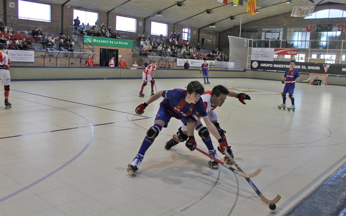 El Juvenil también se clasifica para el Campeonato de Catalunya