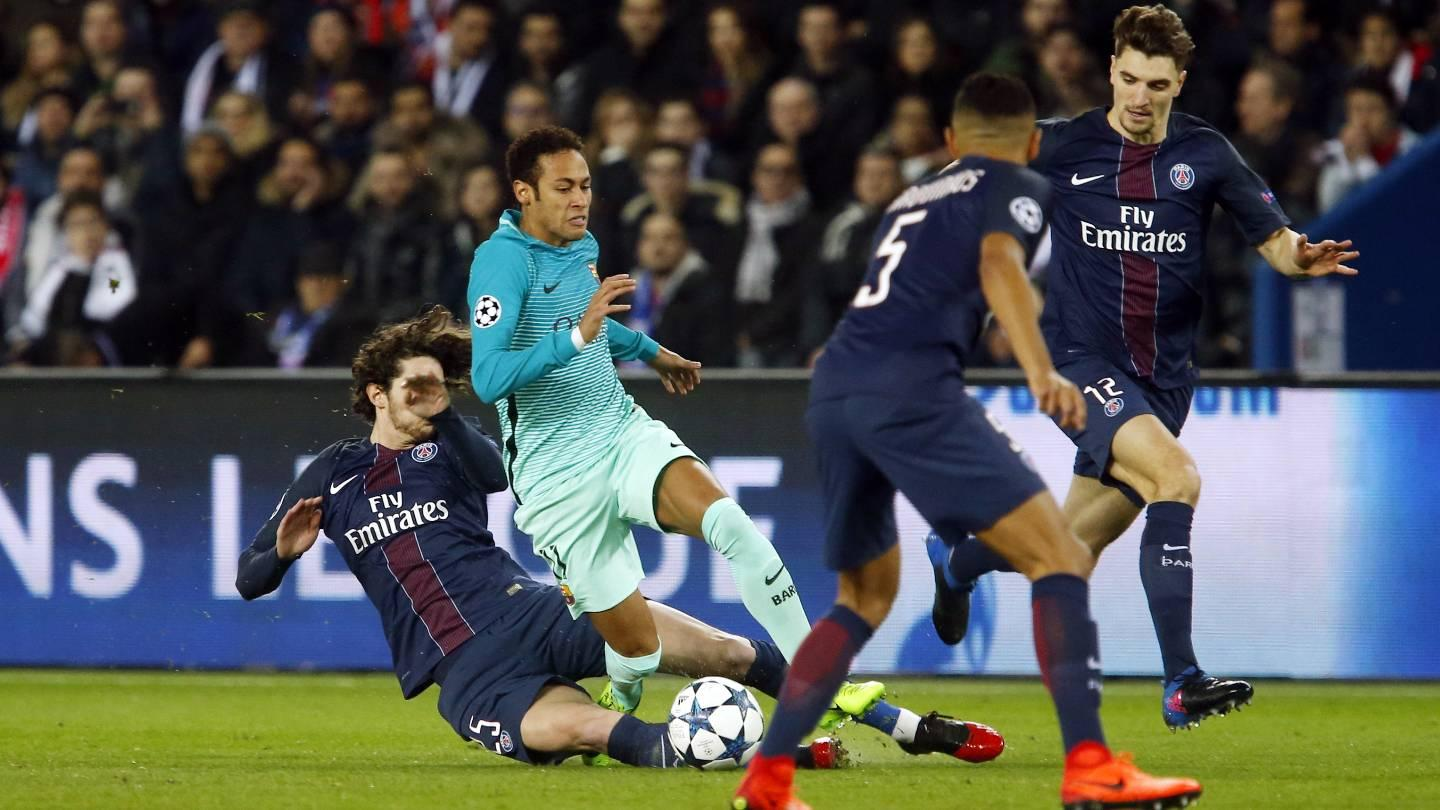 MATCH REPORT Paris Saint-Germain 4-0 FC Barcelona: A mountai